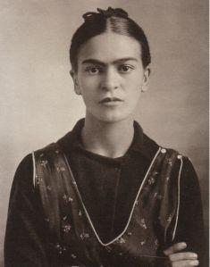 1932, octubre 16. Frida Kahlo.