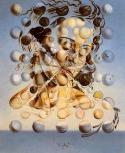 """1952 """"Galatea de las esferas"""" by Salvador Dalí"""