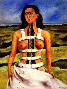 «Pies, ¿para qué los quiero si tengo alas para volar?» by Frida Kahlo