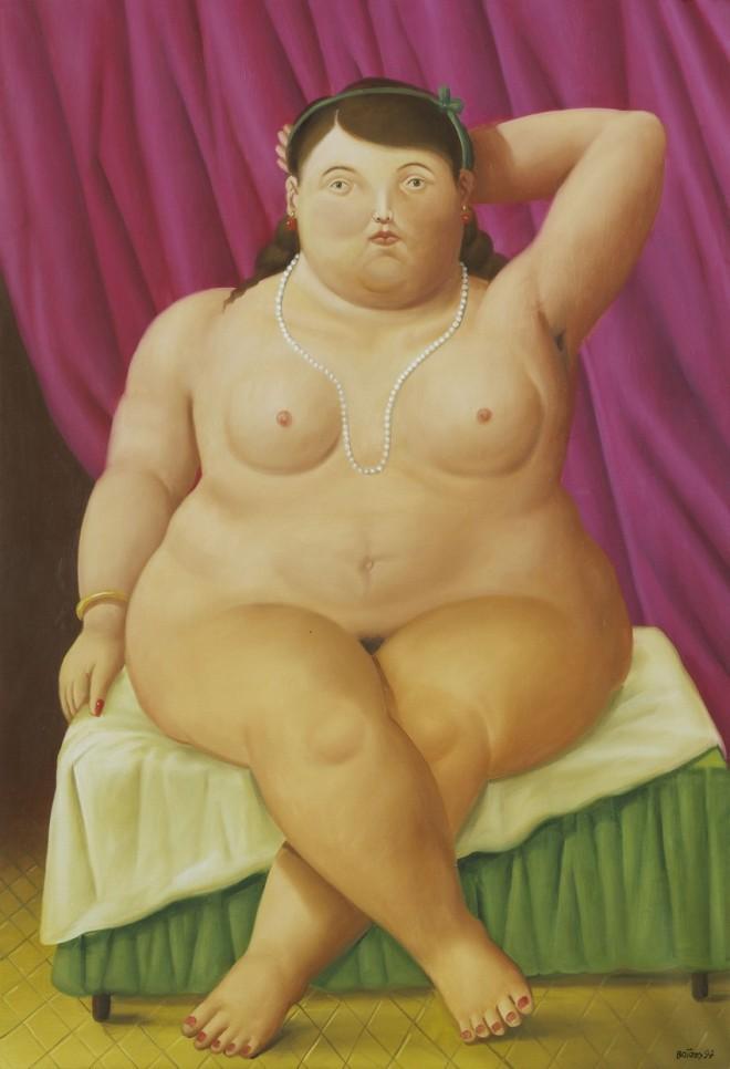 «En mis cuadros hay cosas improbables, no imposibles» by Fernando Botero.