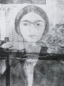 """""""El primer dibujo de mi vida"""" by Frida Kahlo"""