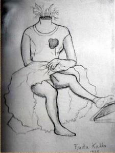 """Herida abierta"" by Frida Kahlo"