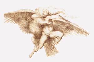 """1533, """"El rapto de Ganimedes"""" by Michelangelo Buonarroti"""