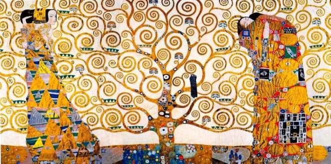 """""""Der Kuss"""" (El beso) by Gustav Klimt"""
