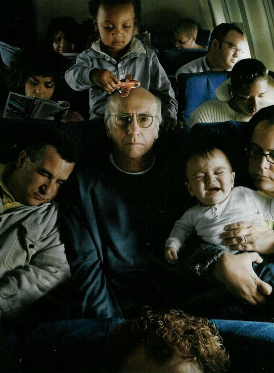 Larry David - Photographed by Annie Leibovitz