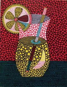 """2000 """"Lemonade"""" by Yayoi Kusama"""