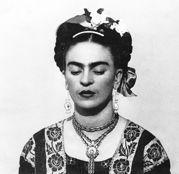 1943, Frida Kahlo by Nickolas Muray