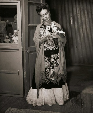 1930, Frida Kahlo photography of © Juan Guzman