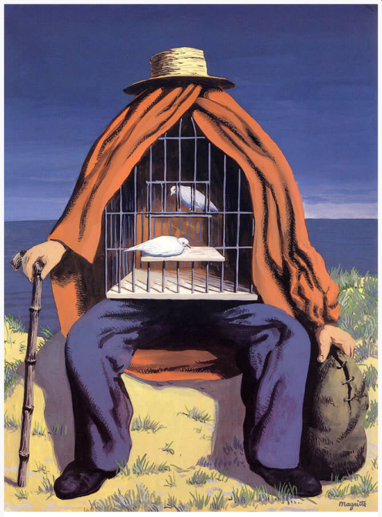 "1937, ""The Therapist"" by © Rene Magritte"